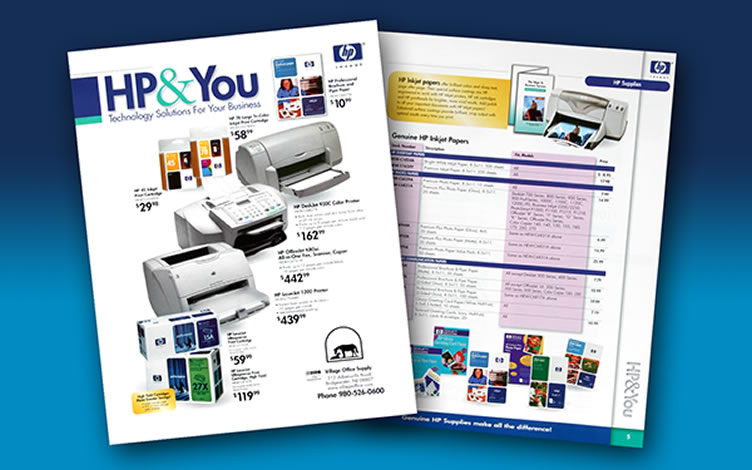 Advertising Corporate Identity Web Trade Show Collateral Material ...: http://glenhill.com/port_collateral.html